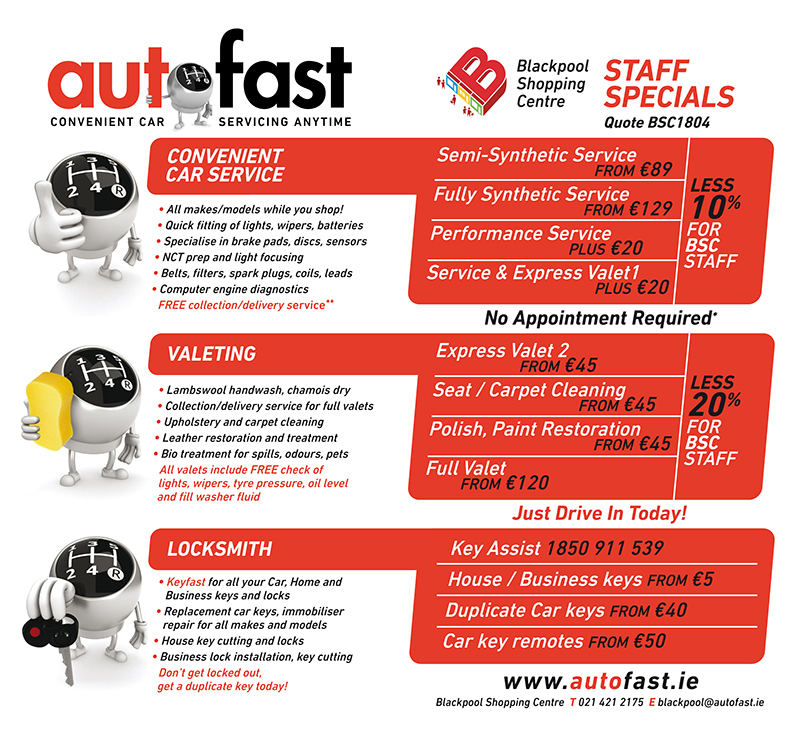 Special Offers – Auto Fast